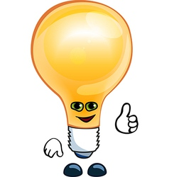 bulb electric vector image