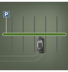 City parking image vector