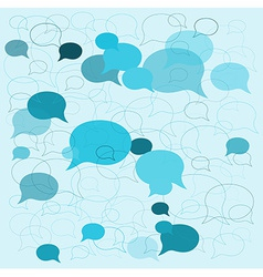 background speech bubbles vector image vector image