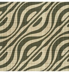 Decorative wooden fiber textile print vector