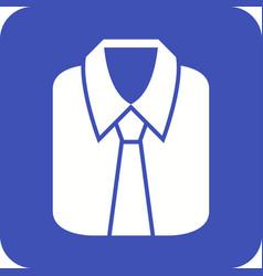 formal shirt vector image