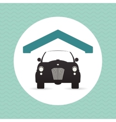 Garage icon design vector