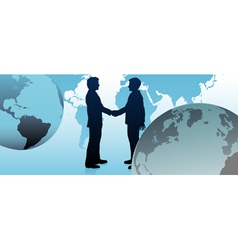 global business people vector image