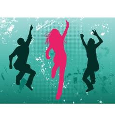 Grunge party vector