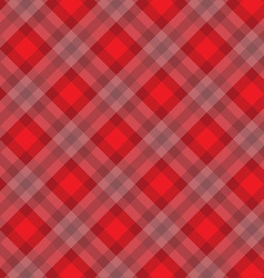 Red fabric pattern vector