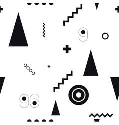Seamless geometric pattern wiht vector