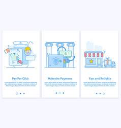 web icons for e-commerce and internet banking vector image