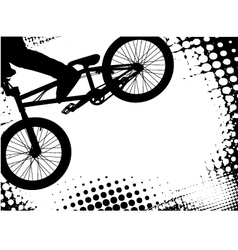 Bmx background vector