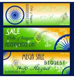 Sale special discount offer for indian vector