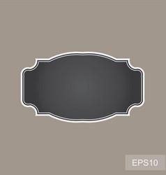blank vintage frames vector image vector image