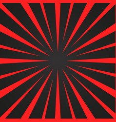 Burst red and black rays background designed for vector