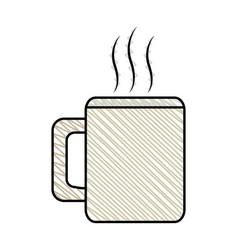 Coffee mug beverage break vector