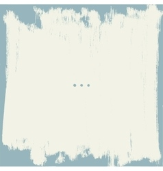 Grunge border vector