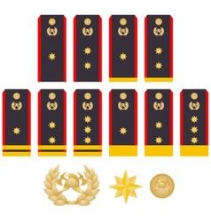 Insignia fire service vector