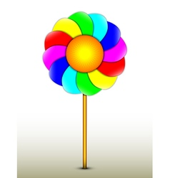 Lollipop as a separate object vector image vector image