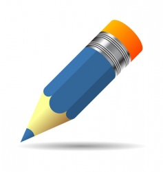 small color pencil vector image vector image