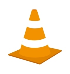 Barrier under construction icon vector