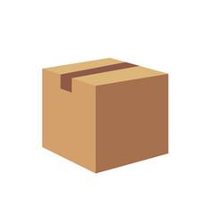 carton container vector image