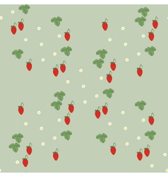 Strawberry pattern4 vector