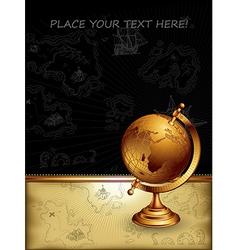 Ancient globe vector