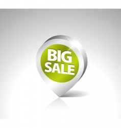 retail sale tag vector image