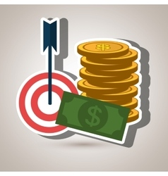 Target money cash vector