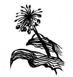 plants sketch vector image