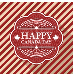 Canada day poster vector