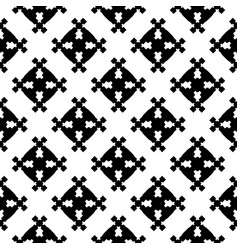 Abstract geometric seamless pattern square figures vector