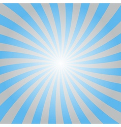 Blue rays poster star shine wavy vector