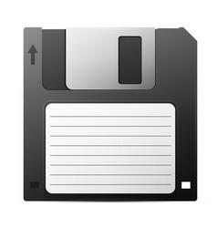 Diskette vector