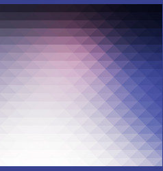Pale pink blue rows of triangles background square vector