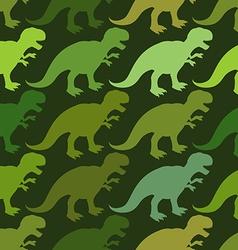 Tyrannosaurus seamless pattern Angry prehistoric vector image
