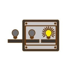 Ideas machine icon vector