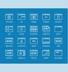 127 icons shopping src vector