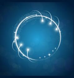 Printsparkles blue background vector