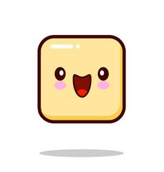 Emoticon icon emoji isolated on white background vector