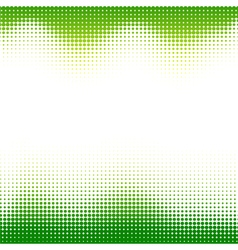 Abstract green halftone background vector