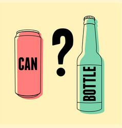 Beer typography vintage poster vector