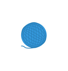 flat icon wool element of vector image