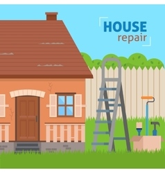 House repair vector