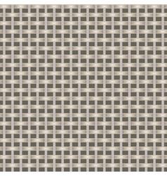 Weaving fabric or bascket vector