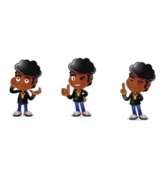 Afro Guy 2 vector image