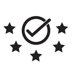Best rating five start rating vector