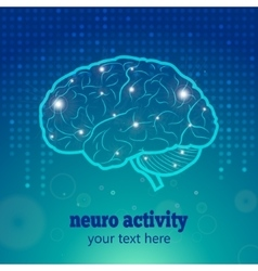 Human brain neural activity vector