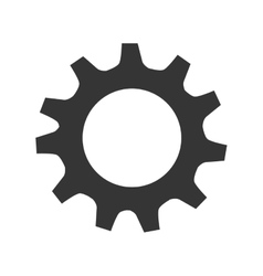 Machinary industry theme design icon vector