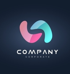 Corporate business logo icon design vector