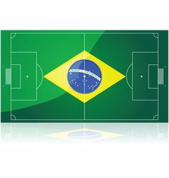 Brazil soccer vector image vector image