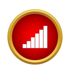 Equalizer icon in simple style vector image