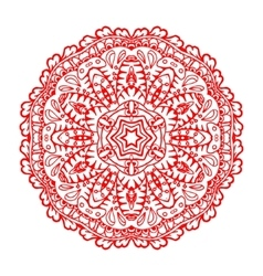 Mandala ethnic decorative element vector
